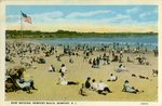 Surf Bathing, Newport Beach, Newport, R.I.