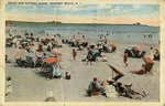 Beach and Bathing Scene, Newport Beach, R.I.