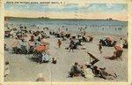 Beach and Bathing Scene, Newport Beach, R.I.