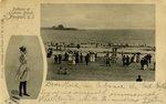 Bathers at Easton's Beach, Newport, R.I.
