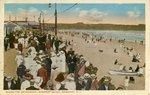 Along the Boardwalk, Newport Beach, Newport, R.I. by Tichnor Bros.