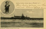 "Bathing Pavilion, Eastons Beach, Newport, R.I.""This baby plays in the sand everyday."""