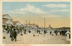 Scene on Newport Beach, Newport, R.I.