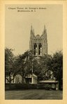 Chapel Tower, St. George's School, Middletown, R.I.