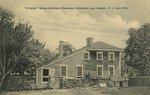 "Whitehall"" Bishop Berkley's Residence, Middletown, Near Newport, R.I. Built 1730."