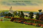Mount Hope Bridge and Bay, Portsmouth, R.I.