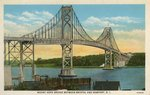 Mount Hope Bridge between Bristol and Newport, R.I.