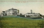 Sandy Point Farm, the Residence of Mrs. Reginald C. Vanderbilt, showing Residence, Office and Stables Portsmouth, near Newport, R.I.