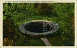 Old Indian Spring, Historical Point of Interst, Prudence Island, R.I,