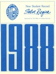 New Student Record 1988 by Salve Regina College