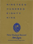 New Student Record 1989 by Salve Regina College