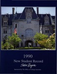 New Student Record 1990 by Salve Regina College