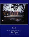 New Student Record 1991 by Salve Regina University