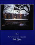 New Student Record 1991 by Salve Regina University