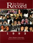 New Student Record 1993 by Salve Regina University